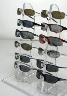 有机玻璃眼镜展示架,眼镜展示架,亚克力展示架