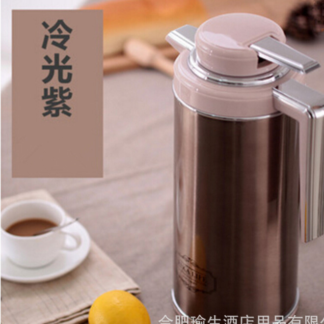 New household thermos bottle 1.3l / 1.6l / 1.9l super large capacity and long-lasting thermal insulation