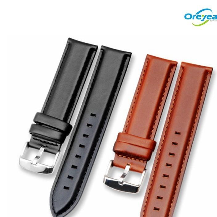 适用于华米三星DW荣耀手表真皮表带华为牛皮厂家手表带包装盒