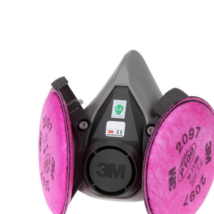 3M 6200防颗粒物及有机蒸气异味电焊焊接防雾霾PM2.5口罩
