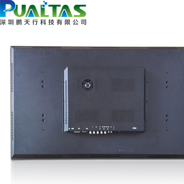 鹏天行19寸液晶监视器监控显示安防专用监控显示屏高清工业级显示