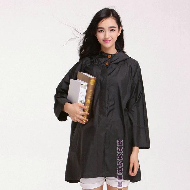 旅行户外蝙蝠衫新款韩国日本可爱轻薄透气时尚斗篷雨衣防雨式风衣