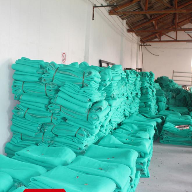 热销建筑安全绳网高强度尼龙耐磨平网  蓝色防护建筑安全平网定制