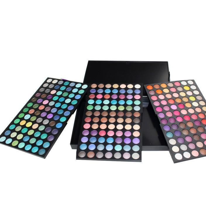 厂家批发 eBay/速卖通热销252色眼影252色眼影盘 252色彩妆盘