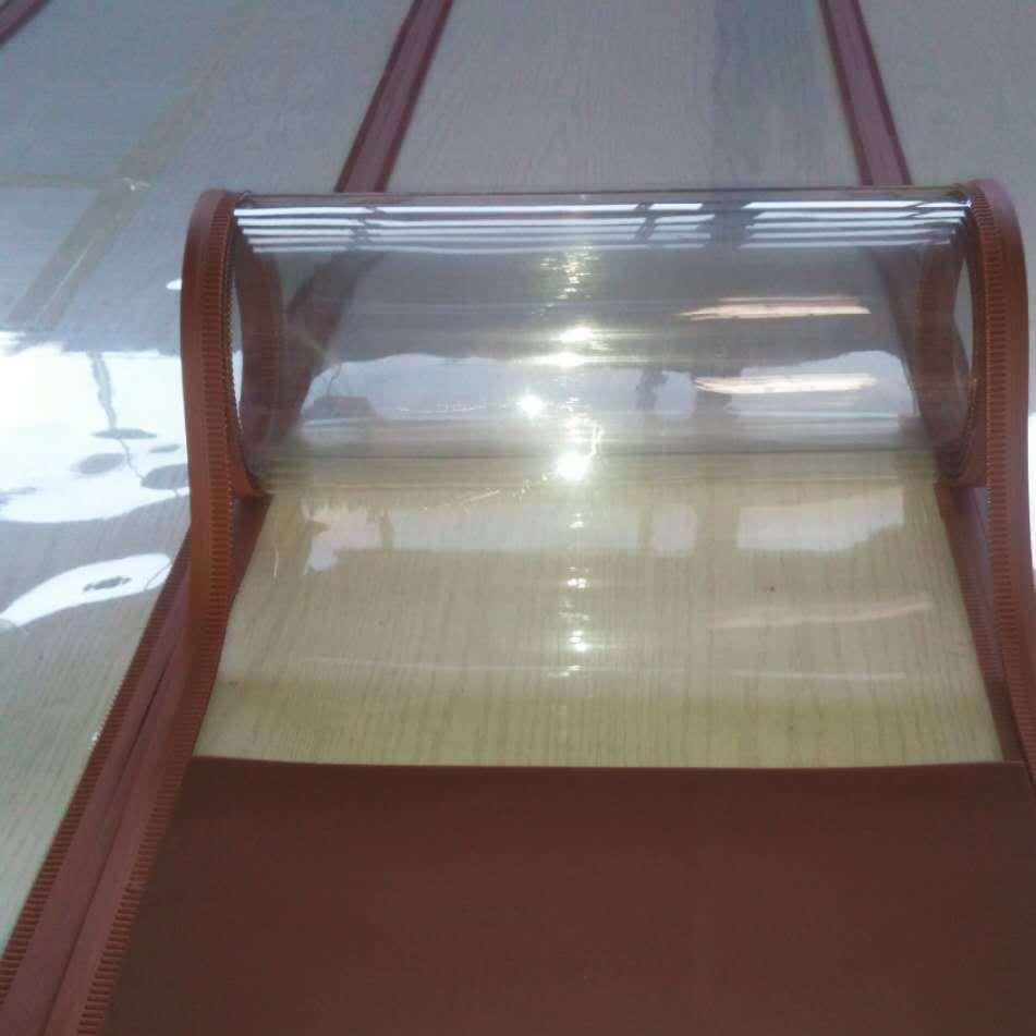 现货批发PVC磁吸门水晶透明门帘磁性软门帘空调挡风门帘