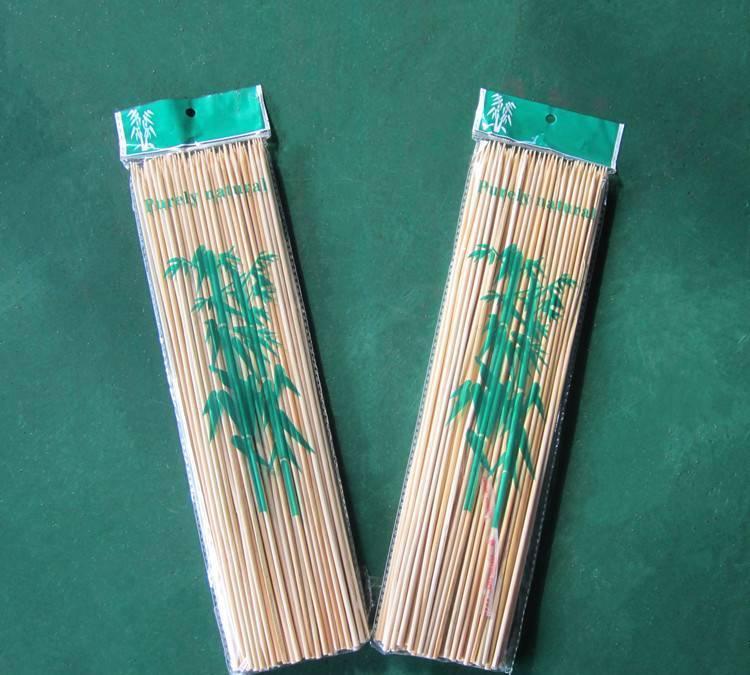 烧烤签竹签 烧烤竹签 长30cm  烧烤用具小额混批 烧烤炉配件供应