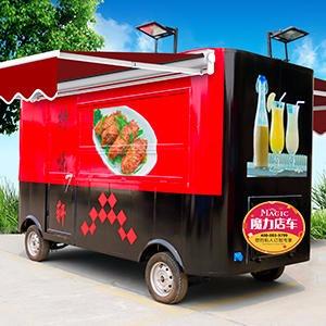 多功能炸串车,卖早餐车,电动四轮快餐车厂家,魔力美食车