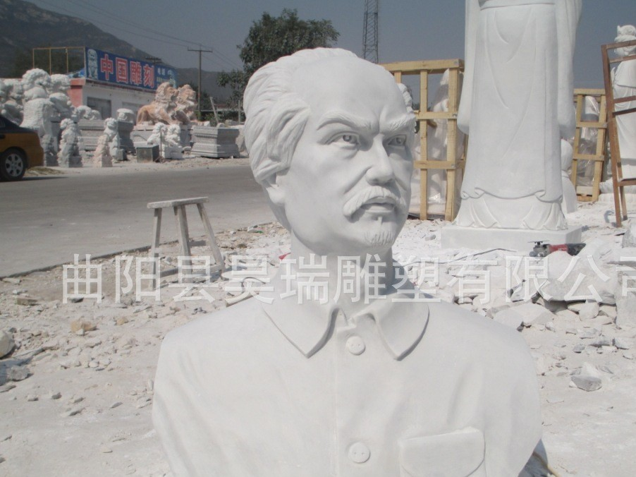供应人物雕像 汉白玉白求恩雕像 石雕白求恩 雕塑白求恩