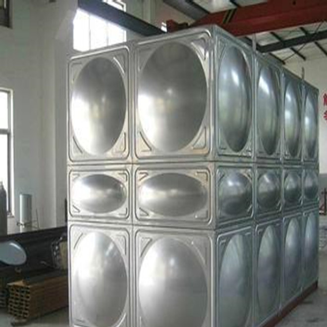 Stainless steel 304 water tank fire tank water tower water treatment equipment water tank SUS