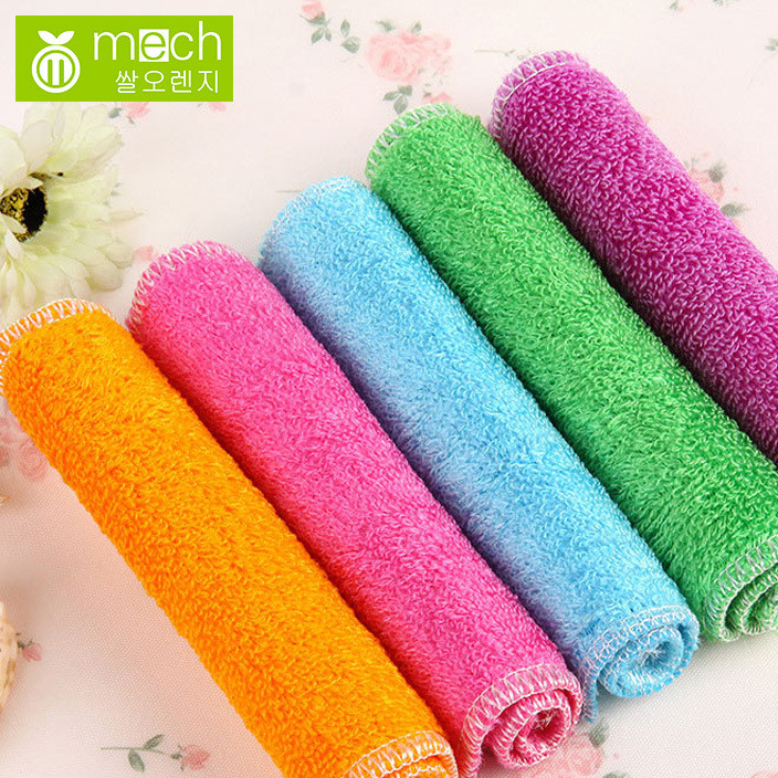 Three generations of 20g 18x23cm bamboo fiber dishwashing towel without oil dishwashing cloth dishwashing cloth Korean dishwashing cloth