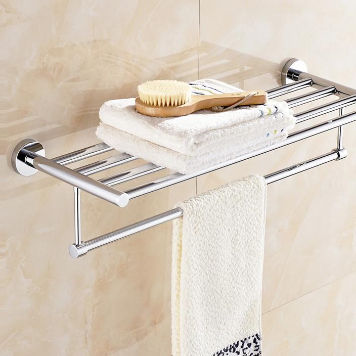 鸣豪卫浴 不锈钢毛巾架浴室浴巾架毛巾杆专业生产厨卫挂件批发