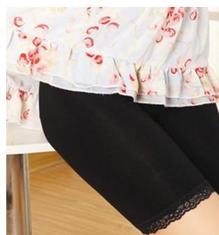 新款2019孕妇裤莫代尔棉中裤可调节孕妇打底裤托腹孕妇裤