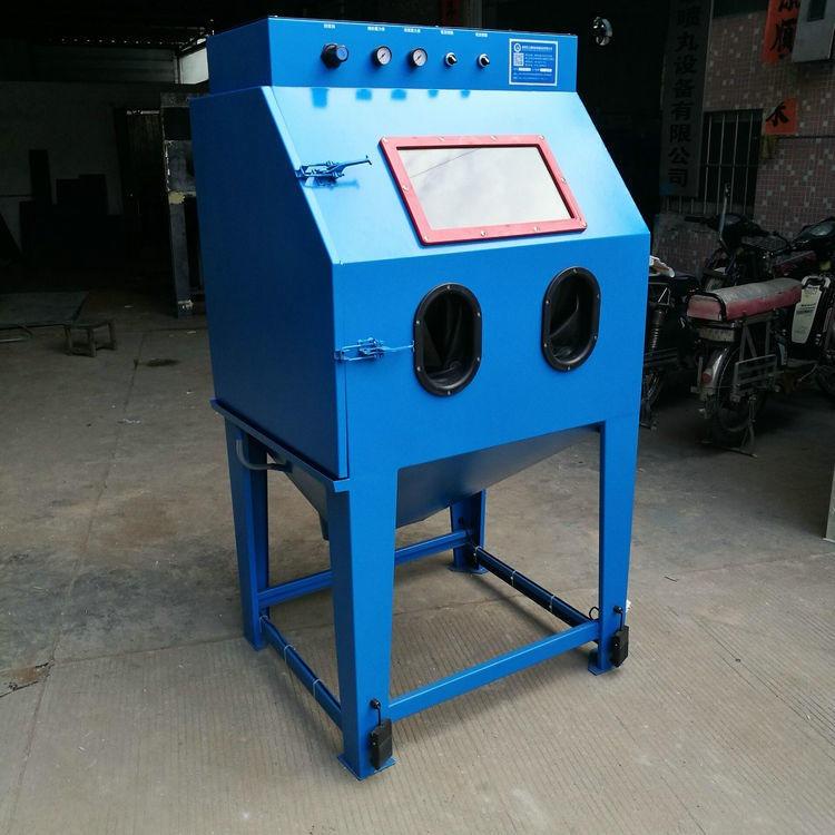 福建水式喷砂机,金属工艺品表面处理液体喷砂机,环保无尘喷砂机