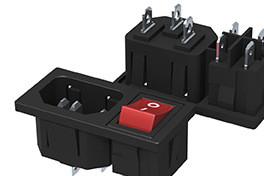 DB-14二合一插座、品字插座、电源插座、AC插座