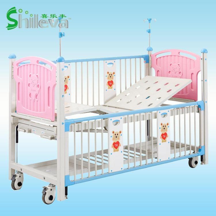 厂家热销医院用儿童护理床高档儿童监护病床多功能手动儿童床