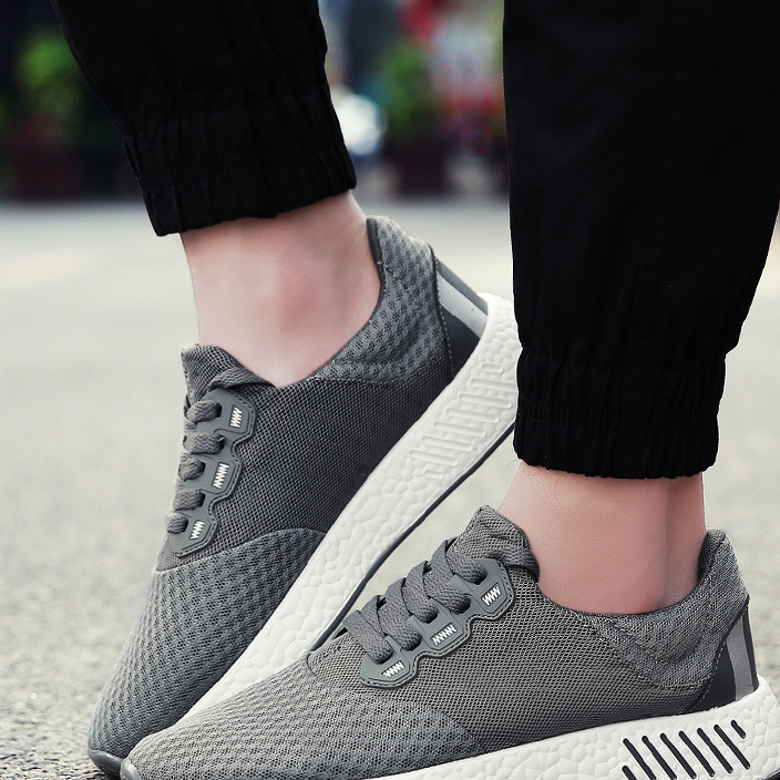 2019 summer breathable men's sports shoes fashion trend breathable and comfortable sports shoes manufacturers direct sales