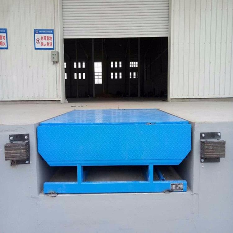 Logistics warehouse loading and unloading platform platform ramp hydraulic loading and unloading platform dcqg-6t fixed boarding bridge
