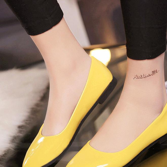 一件代发秋季新款浅口女单鞋纯色休闲鞋职业女士小皮鞋女鞋批发