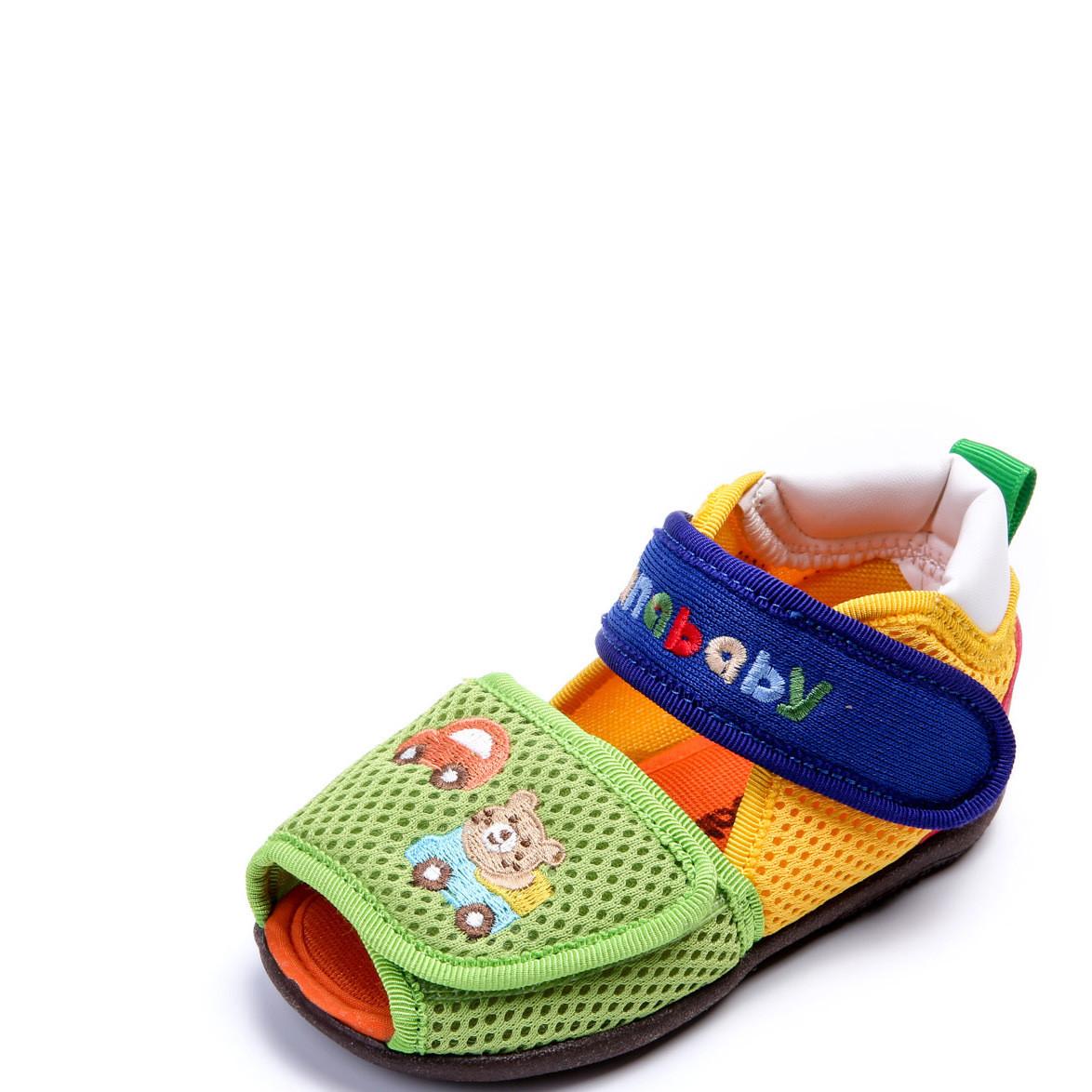 渣纳贝贝夏季婴儿童防滑凉鞋机能鞋子男女软底学步鞋ZA0016