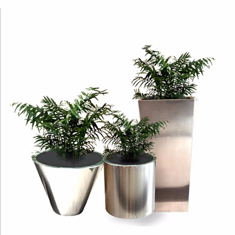 Outdoor stainless steel flower box drawing stainless steel flower box professional production pattern stainless steel flower box outdoor flower box stainless steel flower box