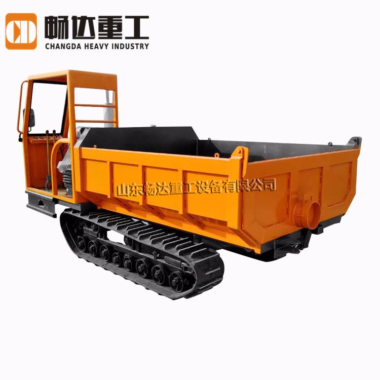 Agricultural crawler transporter 8t high speed crawler transporter