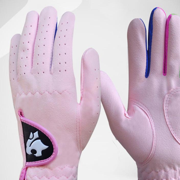 儿童高尔夫手套 男童 女童 一双 高尔夫儿童手套