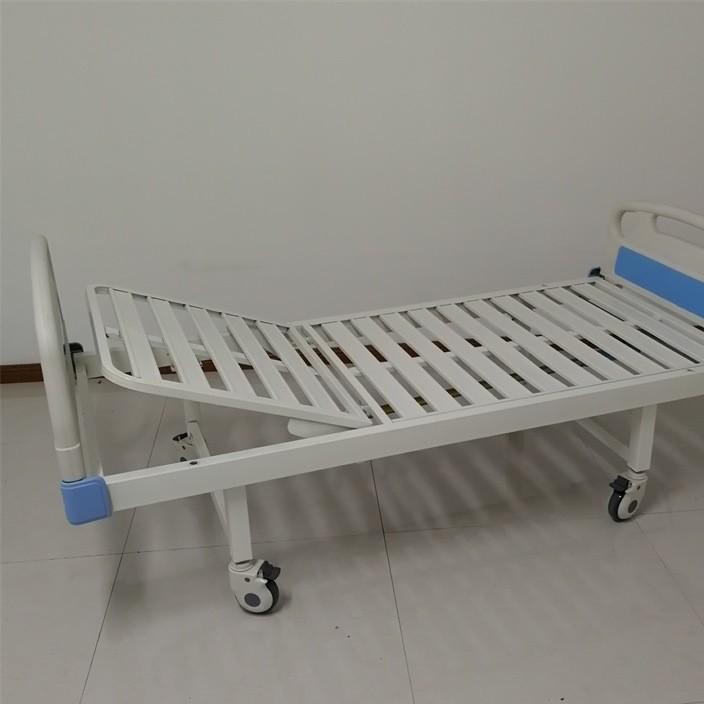 单摇病床ABS床头单摇起背床门诊陪护床病床用护理床头柜厂家