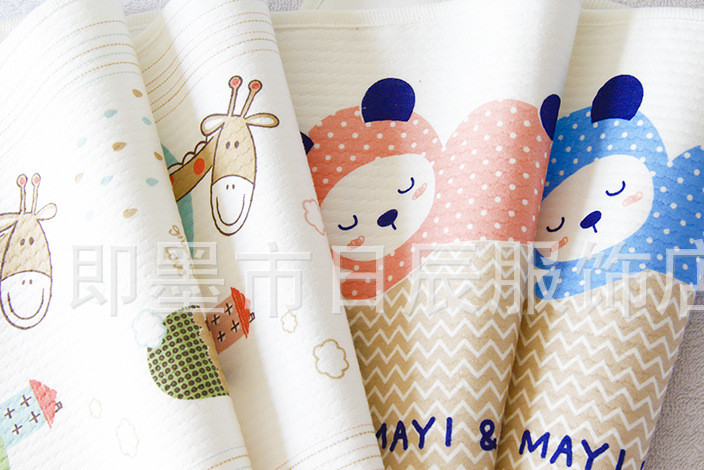 母婴用品厂家批发大小码宝宝隔尿垫 小蚂蚁新生儿隔尿巾 防水尿垫