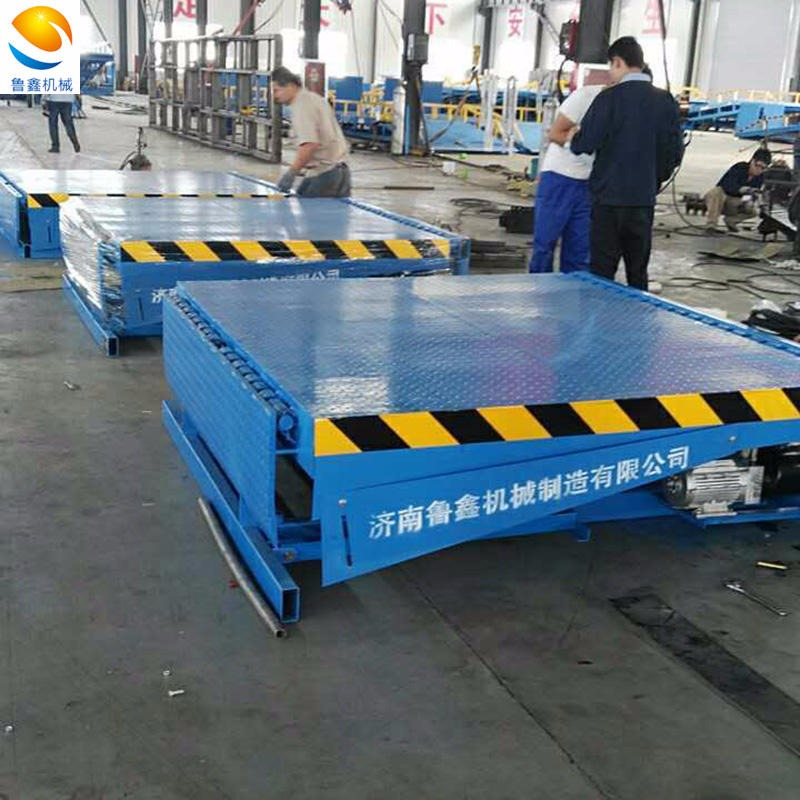 Fixed boarding bridge dcqg-10 logistics storage equipment container loading and unloading platform