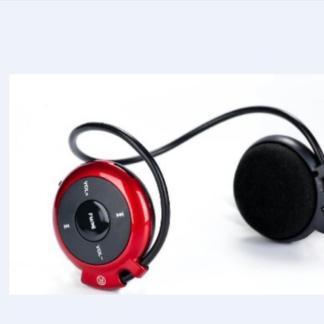 通用立体声插卡mini蓝牙耳机 新款头戴运动无线后挂式双耳麦音乐