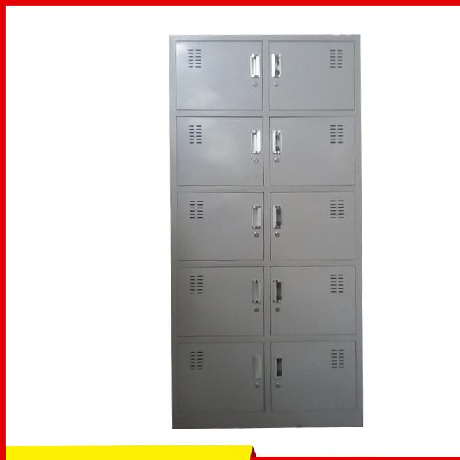 浴室十门更衣柜  钢制储物柜  铁皮办公柜厂家直销