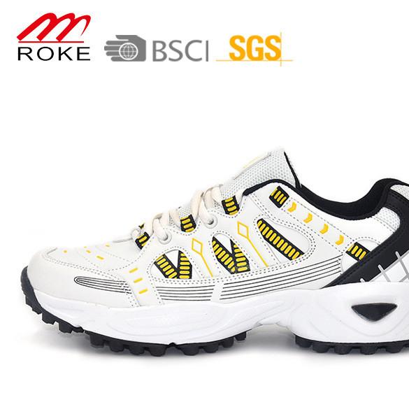外贸出口男鞋 户外比赛运动鞋 男款护脚耐磨高尔夫 板球鞋