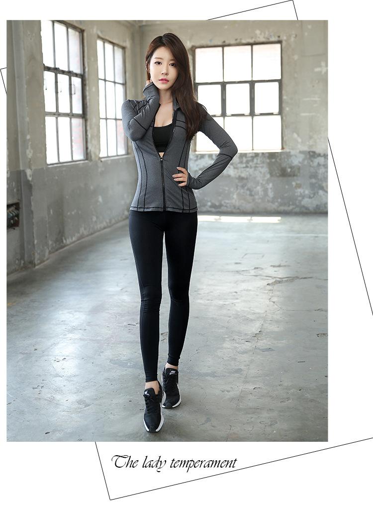 sweet sweat瑜伽健身服运动套装女跑步速干衣气质款 黑色三件套