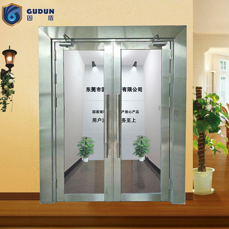 Glass class a fire door has fire record, solid shield glass class a fire door long service life