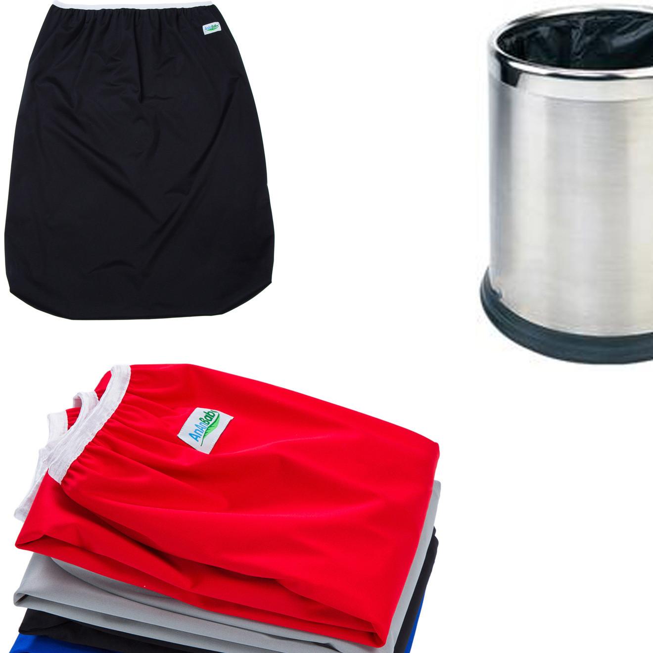 抽绳大尿布袋 婴儿尿布袋 环保透气防水隔尿袋 隔尿用品厂家直销