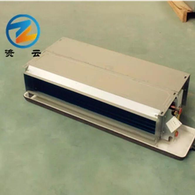 卧式暗装风机盘管 带回风箱 水冷空调 中央空调 大量现货厂家直发