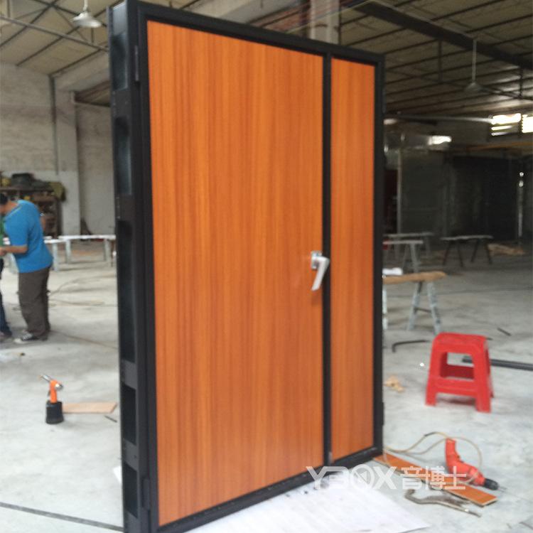 套装钢制门 影院隔音门 钢木复合门