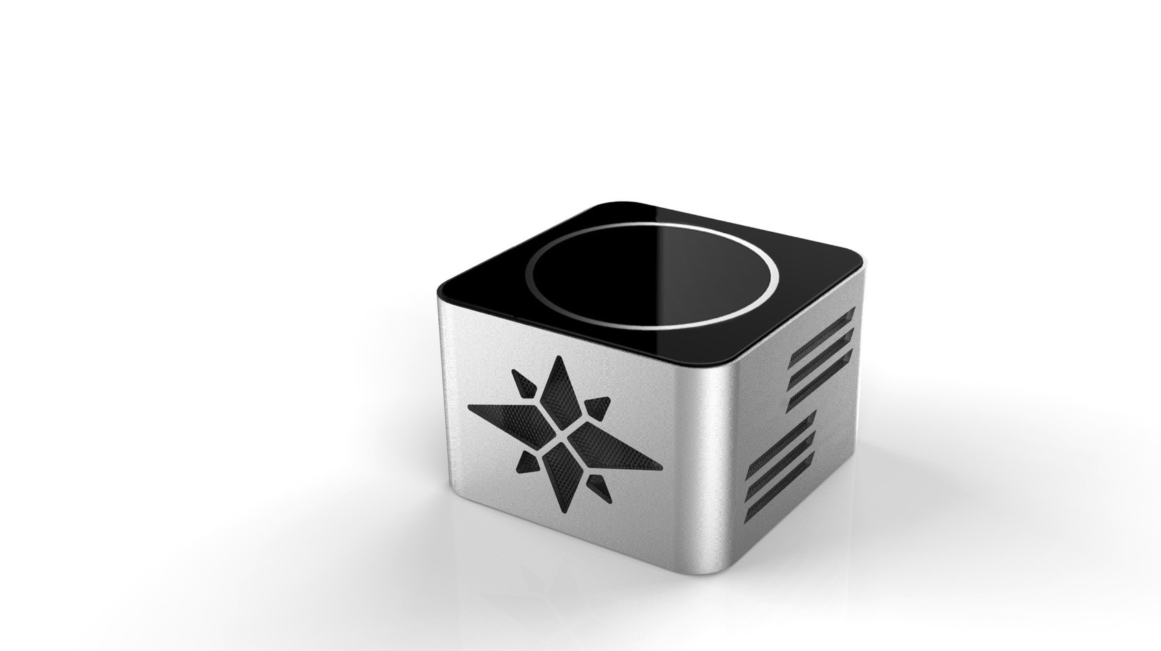 KR-8100A无线手势识别蓝牙音箱 NFC音箱铝合金蓝牙音箱 厂家直销
