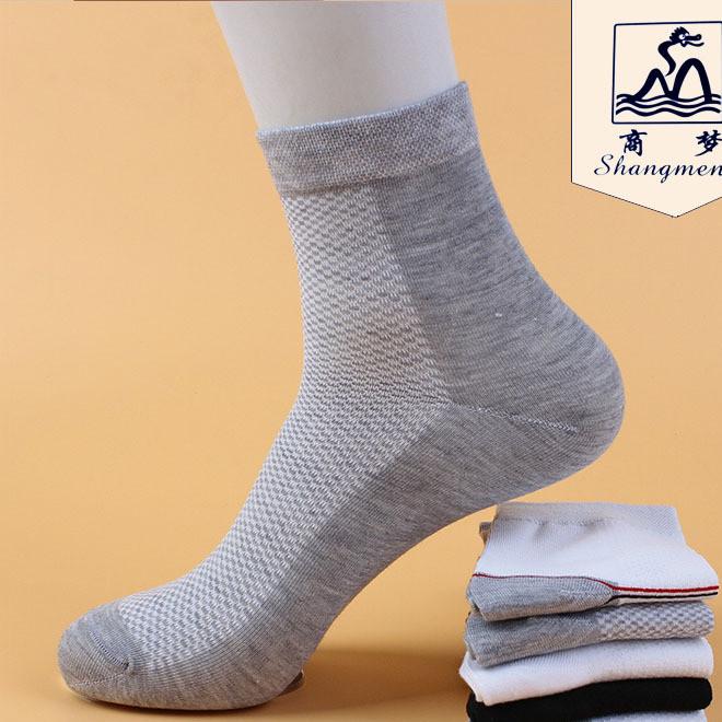 Business dream men breathable sweat anti-odor leisure sports net socks manufacturers socks wholesale tube men's socks autumn and winter