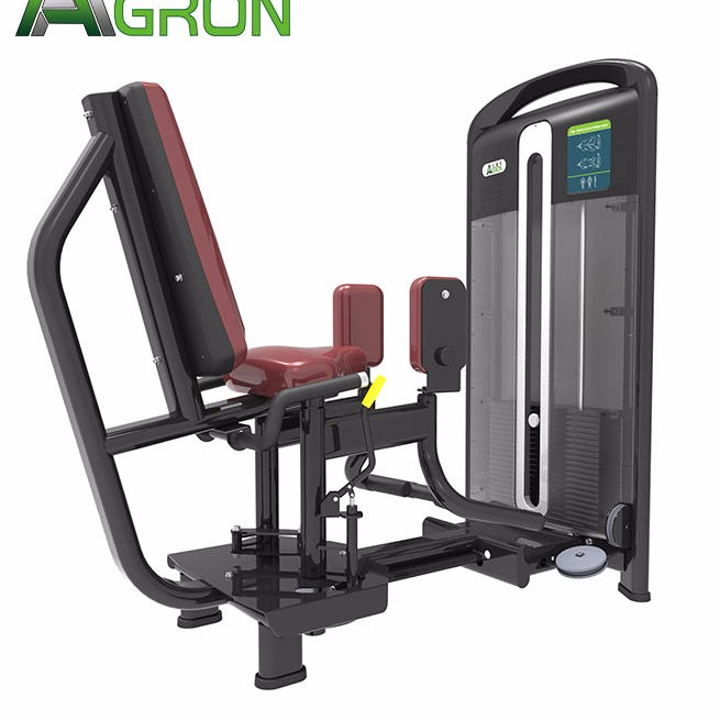 Strength apparatus commercial fitness apparatus inner and outer thighs trainer