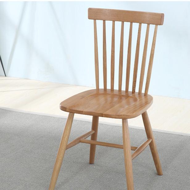 纯实木温莎椅 橡木餐椅 休闲咖啡椅 会议椅 厂家直销 白橡木餐椅