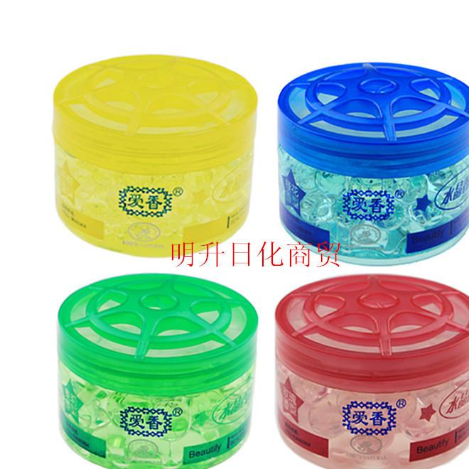 爱香水晶香珠空气芳香剂 固体空气清香剂清新剂 除臭除味剂 120g