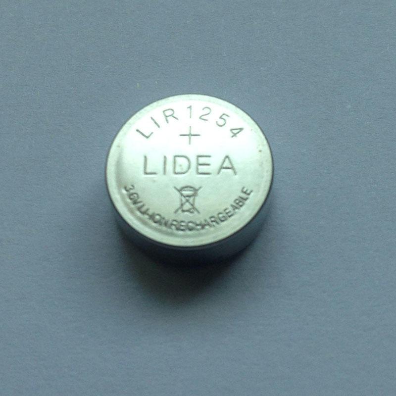 真无线TWS蓝牙耳机电池LIR1254