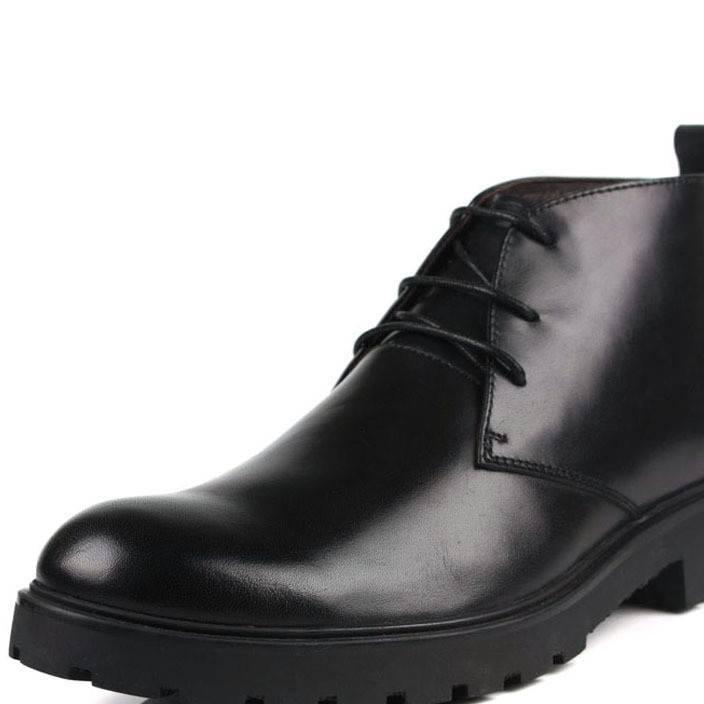 2013冬季保暖鞋加棉男士棉鞋真皮男靴潮流韩版棉皮鞋男雪地靴批发