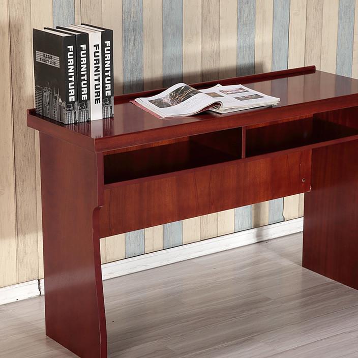 学生课桌椅培训桌 双人三人会议桌椅 办公培训油漆贴木皮长条桌椅
