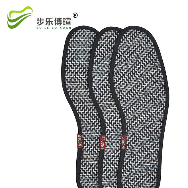 Sweat-absorbing and breathable sports insoles wholesale bamboo charcoal deodorant sports insoles for germicidal beriberi in addition to four seasons pad sweat run