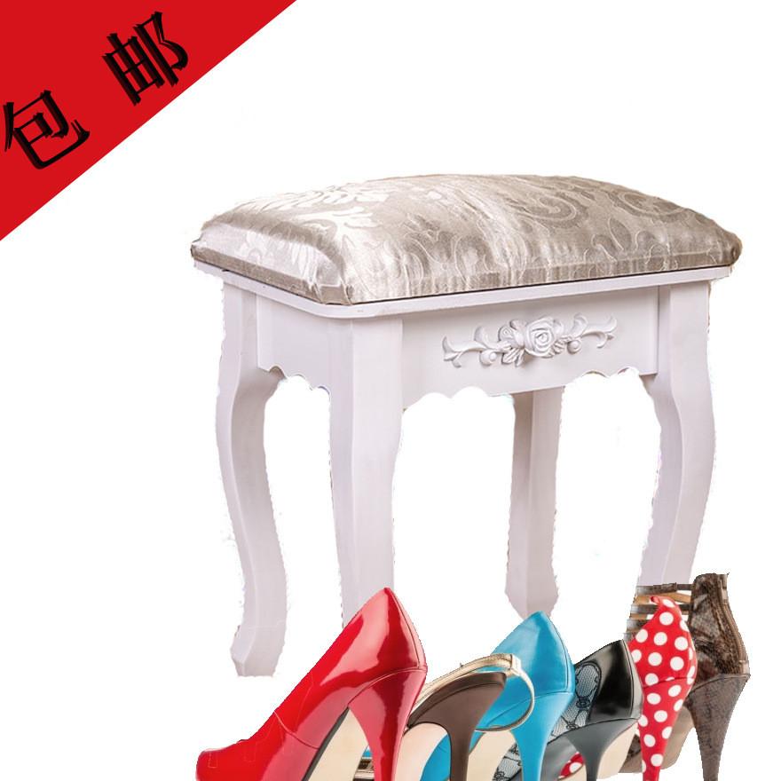 大量供应 实木梳妆台凳子 美甲凳子 梳妆妆台木凳 门厅换鞋凳