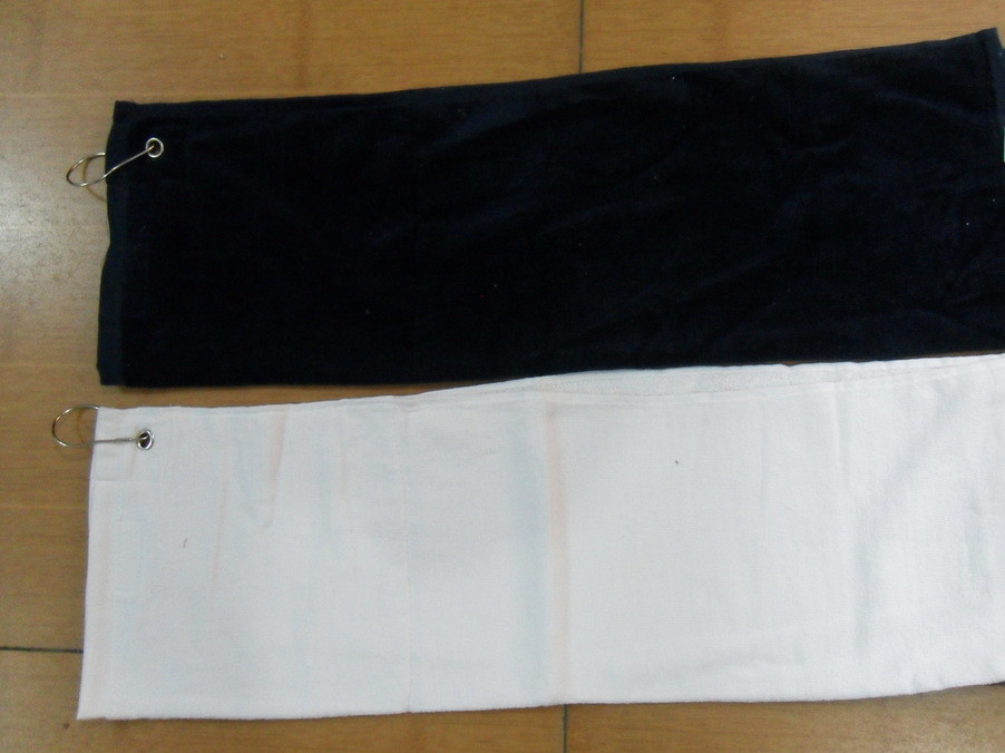 Golf towel wholesale, supply of golf towel, single tail golf towel