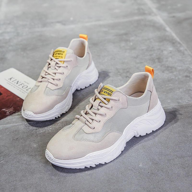 杰华仕男鞋厂家直销批发 新款运动鞋 透气男鞋 品牌厚底耐磨休闲鞋 男鞋网红款老爹鞋
