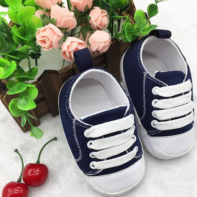新品热卖帆布鞋 婴儿鞋学步鞋子 宝宝外贸鞋 运动鞋 点胶防滑底GL